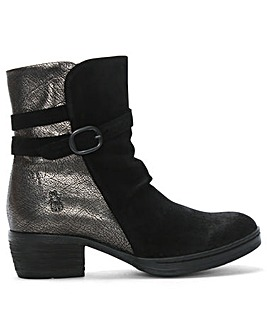 Fly London Cimp Suede Contrast Boots
