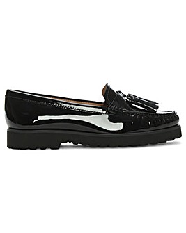 Daniel Goldie Patent Leather Loafers