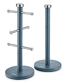 Tower Ice Diamond Mug Tree & Towel Pole