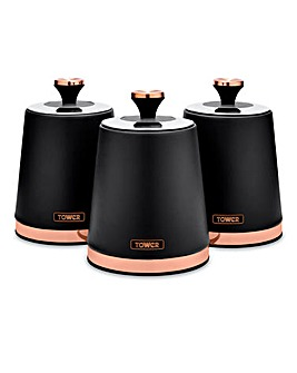 Tower Cavaletto Set of 3 Canisters