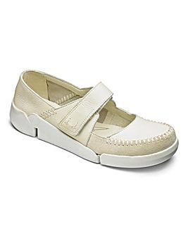Clarks Tri Amanda Bar Shoes D Fit
