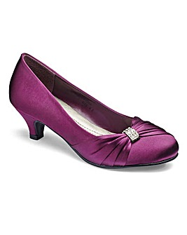 JOANNA HOPE Court Shoes With Trim Detail Extra Wide EEE Fit