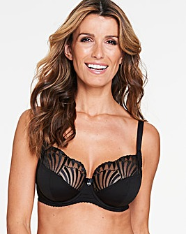 Berlei Embrace Support Black Balcony Bra