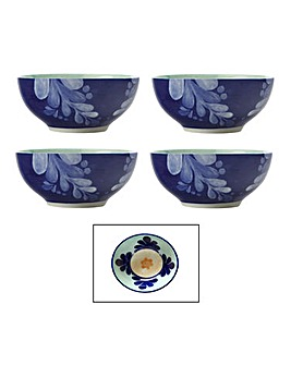Maxwell & Williams Majolica Bowls Teal