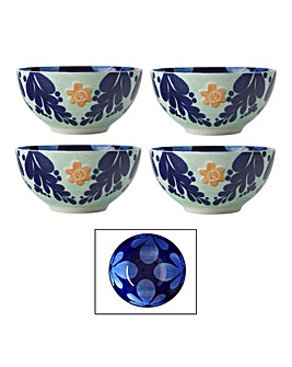 Maxwell & Williams Majolica Bowls Blue