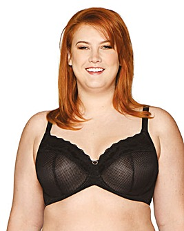 Curvy Kate Delightfull Full Cup Wired Black Bra