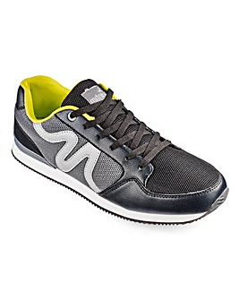 Mitre Romano Trainers Extra Wide Fit