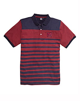 Admiral Style Mighty Striped Polo Shirt