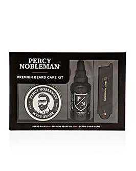 Percy Nobleman Premium Beard Care Kit