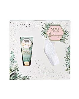 S&G Spa Fluffy Sock Set Eco Packaging