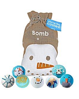 Bath Bomb You're The Coolest Sack Set