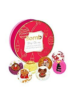 Bath Bomb Merry Chic-mas Creamer Set