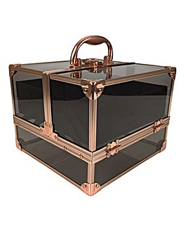 Technic Empty Black & Rose Gold Case