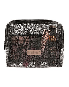 Technic Cosmetic Bag with AYR items
