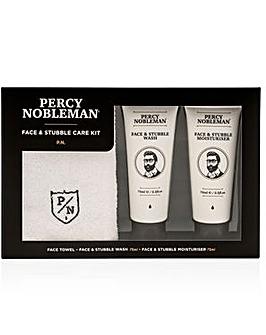Percy Nobleman Face & Stubble Kit