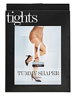 Magisculpt 10 Denier Natural Tummy Shaper Tights