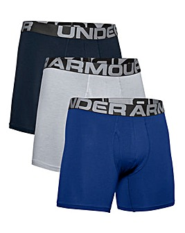 Under Armour Pack of 3 Cotton Boxers