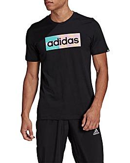adidas Hazy Dreams Box Logo T-Shirt