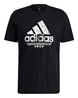 adidas Recycled Logo T-Shirt
