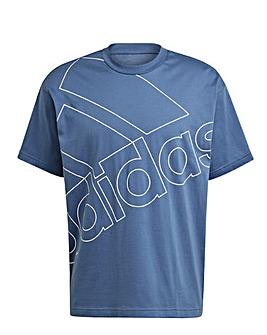 adidas Essentials Giant Logo T-Shirt