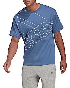 adidas Essentials Giant Logo T-Shirt