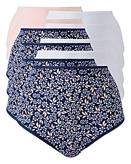 10Pack Leaf Print Full Fit Briefs