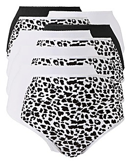 10Pack Animal Print Full Fit Briefs