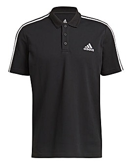 adidas Essentials 3 Stripe Polo