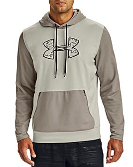 Under Armour Textured Big Logo Hoodie