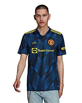 adidas Manchester United FC 2021/22 Men's Third Short Sleeve Replica Shirt