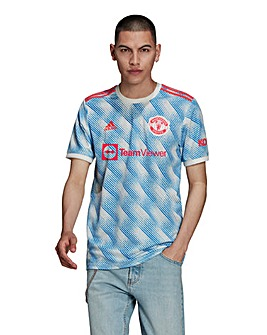 adidas Manchester United FC 2021/22 Men's Away Short Sleeve Replica Shirt