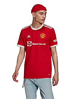 Manchester United FC Men's Home Short Sleeve Replica Jersey