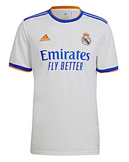 Real Madrid Men's Home Short Sleeve Replica Jersey