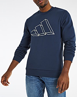 adidas Graphic Crewneck