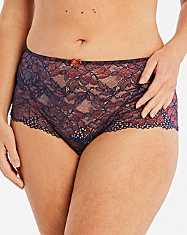 Joanna Hope 2 Tone Lace Deep Brief