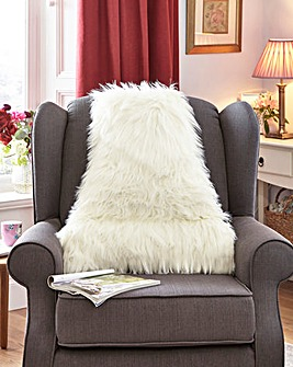 Faux Fur Back Support