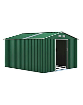 Oxford Green Shed 277 x 319cm