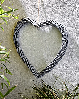 Smart Garden Light up Wicker Heart