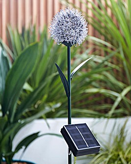 Colour Changing Starburst Solar Stake Light
