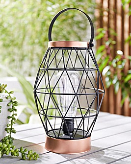Geometric Battery Powered Lantern