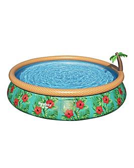 Bestway 15ft Paradise Palms Pool Set