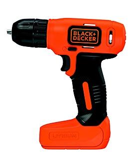 Black + Decker 7.2v Drill Driver