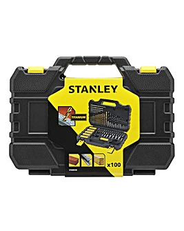 Stanley Premium 100 Piece Accessory Set
