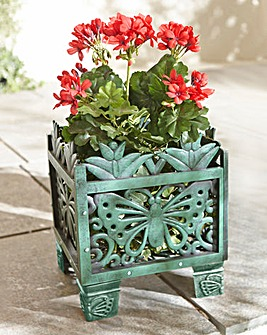 Butterfly Square Planter