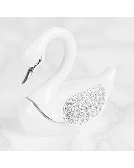 White Swan Trinket
