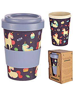 Unicorn Dreams Bamboo Travel Mug
