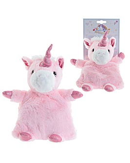 Plush Pink Unicorn Microwavable Warmer