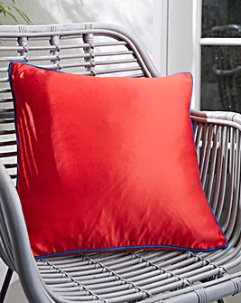 Contrast Piping Outdoor Cushion