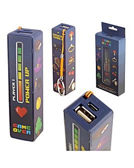 Retro Gaming Portable USB Power Bank
