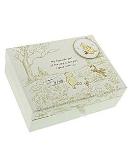 Disney Winnie the Pooh Keepsake Box